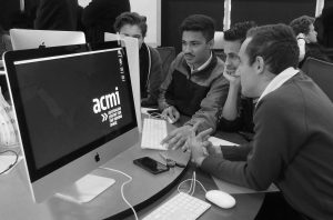 Projection animation workshop at ACMI