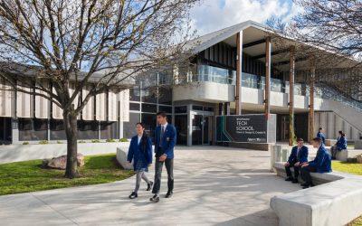 Our tech school earns architects an award