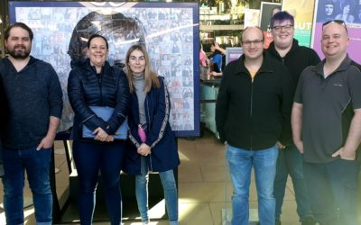 Team outing to Top Designs exhibition