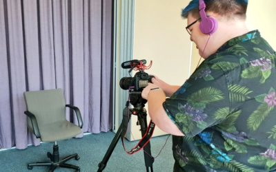 Filming local perspectives for new program